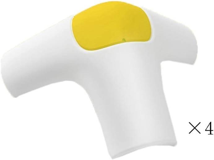 ZXL Protector de Bordes, Protector de Esquina de Mesa, Gel de sílice Protección Ambiental y Suave para niños (3 Colores Opcionales) (Color: Amarillo)