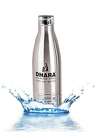 Dharaステンレススチールウォーターボトルfor Hot & Cold Water (700ml) -dhara21 B07B2VQWM8
