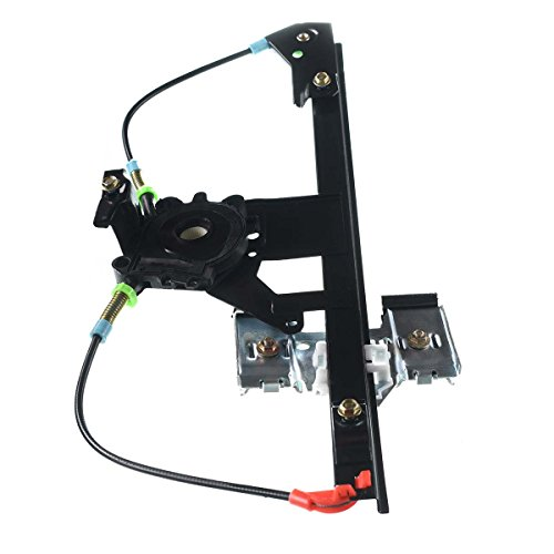 (Rear Right Side Power Window Regulator without Motor for Volkswagen Golf 1995-1999 Jetta 1993-1999)