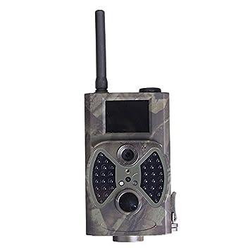 SMS 940NM HC300M IR LED Docooler C/ámara de Caza Trail Exploraci/ón Vigilancia Caza Infrarrojo Digital GPRS MMS