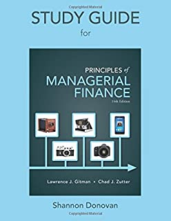 Principles of managerial finance student value edition plus new study guide for prinicples of managerial finance fandeluxe Images