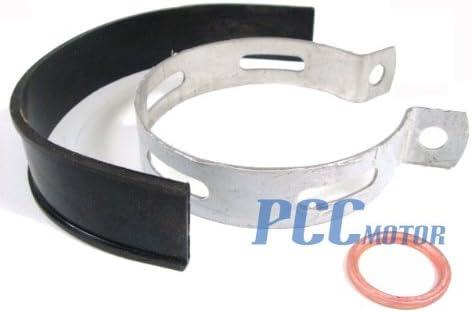 PCC MOTOR MUFFLER EXHAUST CLAMP GASKET SET FOR PIT DIRT BIKE XR50 CRF50F MG01