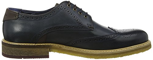 Ted Baker Herren Prycce Oxfords Blau (blu Scuro)