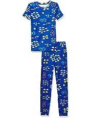 The Children's Place Pijama de algodón para bebés y niños pequeños con Ajuste cómodo Juego de Pijama para bebés niños
