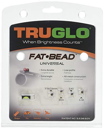 Universal Shotgun Sight - TRUGLO Fat Bead Fiber Optic Sight Universal Green