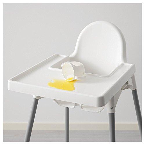 Ikea Dubai Kitchen Accessories: Ikea Antilop Highchair With Tray, Safety Belt, White