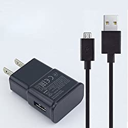 """Lavett Charger for Amazon Kindle 2, 3, 4, Kindle Fire, Kindle Touch, Kindle Dx AC Adapter New Hd Hdx 6"""" 7"""" 8.9"""" 9.7"""" Tablets, eReaders, Phones, Tab Cord"""