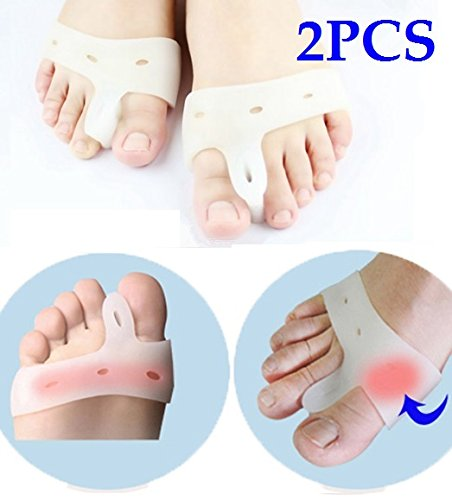 cerkos-gel-toe-separators-straightener-bunion-protector-corrector-with-metatarsal-pad-feet-care-for-