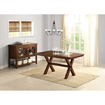 New Quality Better Homes And Gardens Furniture Wood Modern Piece Antique  Room Maddox Crossing Dining Table
