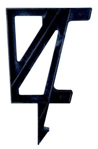 2x4basics 90172 Custom Dekmate Bench Bracket, Black - 2 Pack (Seating Ideas Diy Patio)