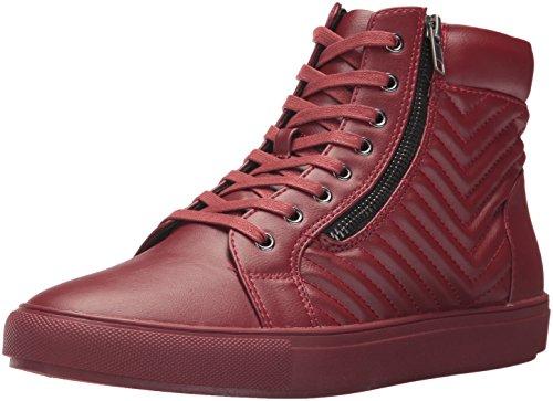 Steve Madden Menns Punted Mote Sneaker Rød