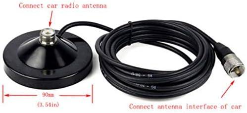 Luckiests Masculina MS90 móvil del Coche Antena de Techo de ...