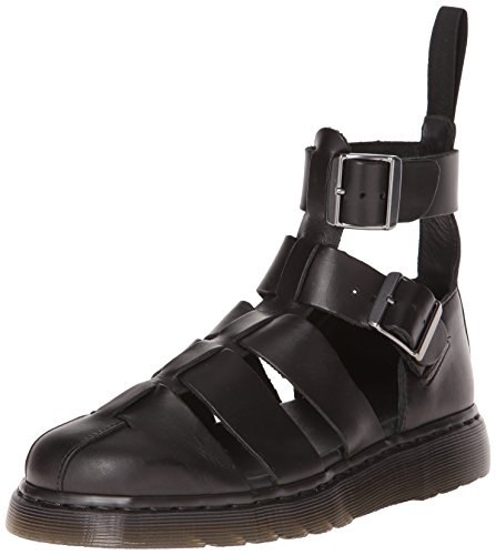 Dr. Martens Men's Geraldo Fisherman Sandal, Black, 9 UK/10 M ()
