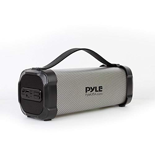 Wireless Portable Bluetooth Boombox Speaker - 300 Watt Rechargeable Boom Box Speaker Portable Music Barrel Loud Stereo System with AUX Input, MP3/USB Port, Fm Radio, 2.5
