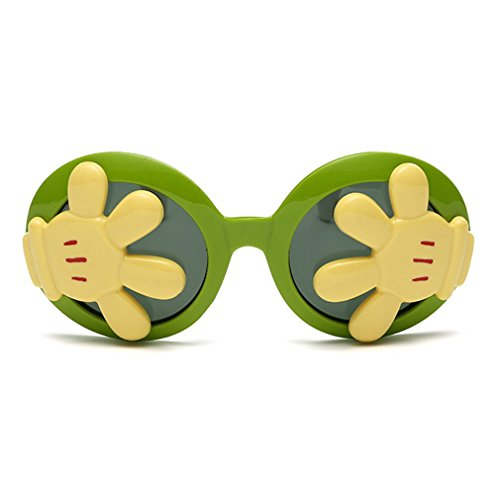 LOMOL Children's Fashion Unique Design Cute UV Protection Round - Sunglasses Versage
