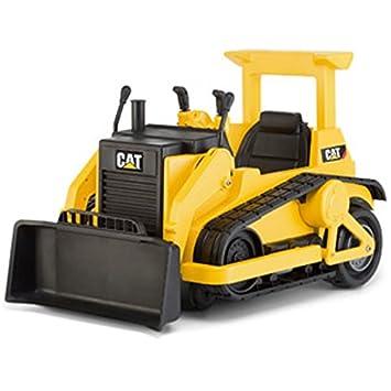kid trax cat bulldozer 12 volt battery powered ride on