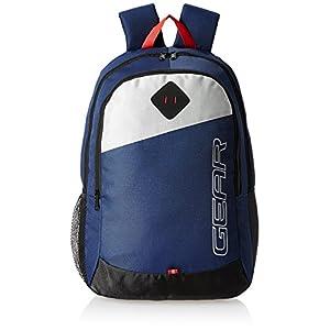 Gear 21 Ltrs Blue Casual Backpack (MDBKPECO50504)