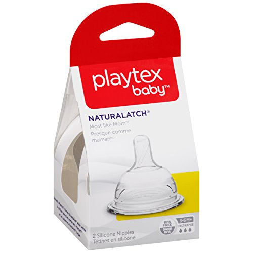 Review Playtex NaturaLatchNipple, Fast Flow,