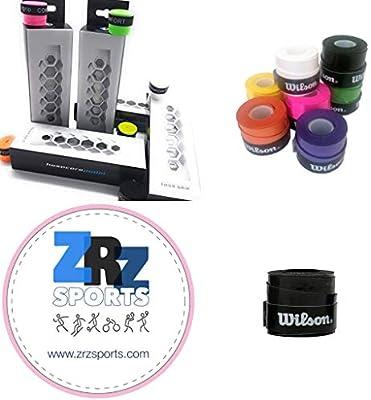 ZRZ Pack Grip Padel HESACORE Tour Grip + 1und overgrip Wilson Confort Negro