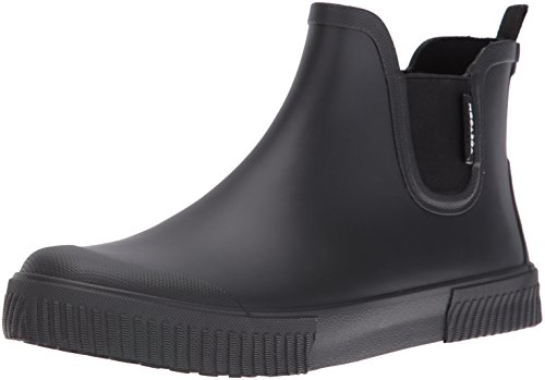 Tretorn Men's Gus Rain Boot, Black/Black/Black, 11 M US