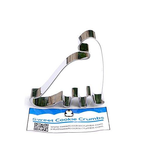 Dinosaur Brontosaurus Cookie Cutter- Stainless Steel