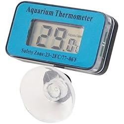 SODIAL(R) Water Submersible Waterproof Digital LCD Thermometer For Aquarium/Fish Tank