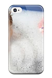 TYH - Forever Collectibles Cute Baby Bath Hard Snap-on ipod Touch4 Case ending phone case