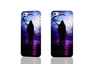 Grim Reaper Gothic Death Angel 3D Rough Case Skin, fashion design image custom , durable hard 3D case cover for iPhone 5C , Case New Design By Codystore