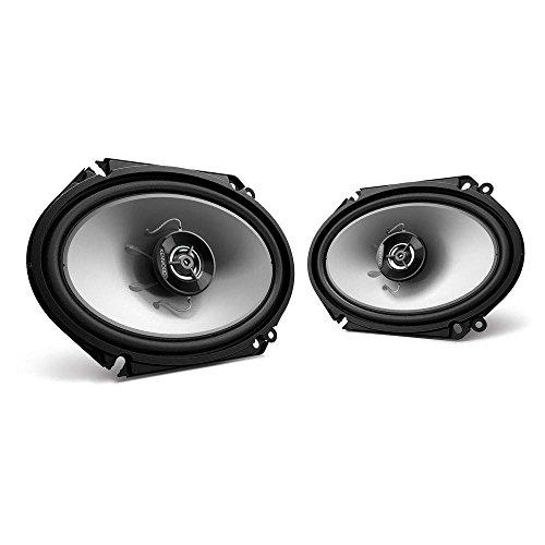 Kenwood KFC‑C6866S 6X8 2‑Way 250 Watt Car Stereo Speakers - (Kenwood Home Audio Speakers)