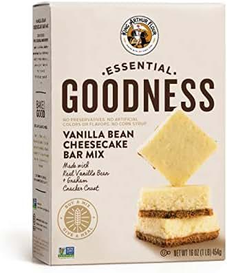 Baking Mixes: King Arthur Essential Goodness Vanilla Bean Cheesecake Bar Mix