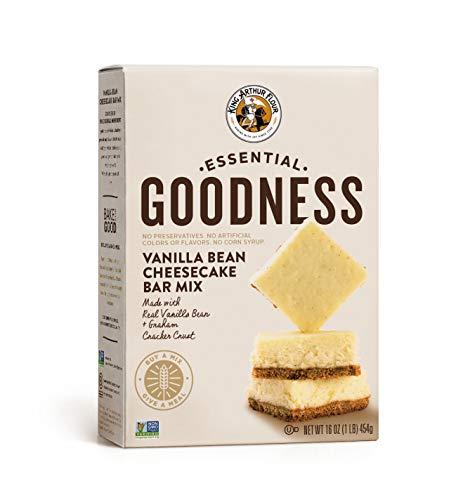 - King Arthur Flour Essential Goodness Vanilla Bean Cheesecake Bar Mix, 16 Ounce