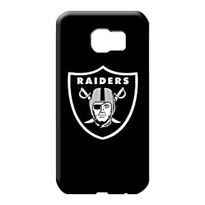 samsung galaxy s6 edge First-class Hard Fashionable Design mobile phone covers oakland raiders 2