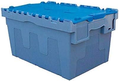 METALWORKS 856001329 Metalworks Modelo DSW5536 Caja Almacén Polipropileno, 400 x 600 x 320mm, 54L: Amazon.es: Oficina y papelería