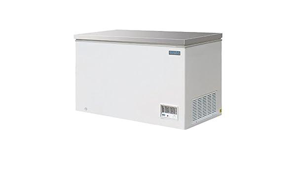 Polar cm530 congelador en el pecho con tapa de acero inoxidable ...