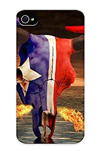 Awesome ERSvK0cLfcl Inthebeauty Defender Tpu Hard Case Cover For Iphone 4/4s- Houston Texans Nfl Football Fq