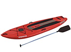 The Sun Dolphin Seaquest 10' stand up paddle board is fun for the entire family! Use for fun and exercise. If you have been looking for the next surf challenge, the stand up paddleboard may be the next frontier for you. Our stand up pa...