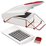 Vegetable Onion Chopper - Manual Food Chopper Onion Cutter, Slicer, Dicer, Multi Kitchen Cutters and Slicers for Veggies, Tomatoes, Chop Onions, Cheese, Fruit By ZYLISS
