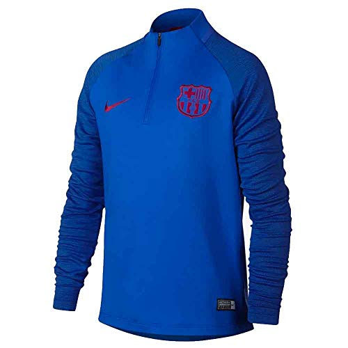 Nike 2019-2020 Barcelona Drill Training Top (Blue) - Kids