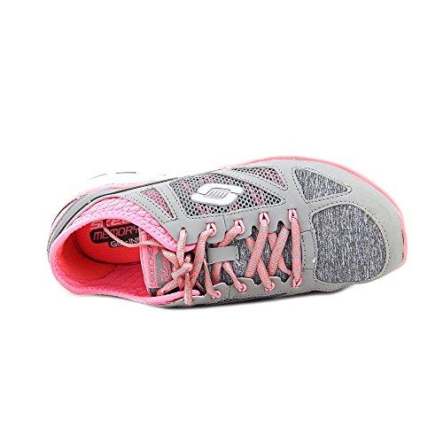 Skechers Sport Damen Flex Relaxed Fit Sneaker Grau / Kohle