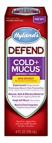 Hylands Natural Expectorant Decongestant Medicine