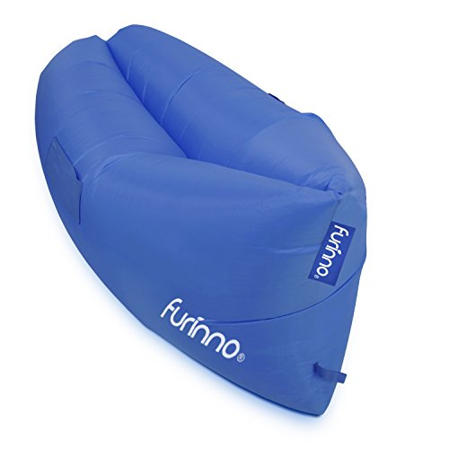 FURINNO Portable Outdoor Inflatable Lounger