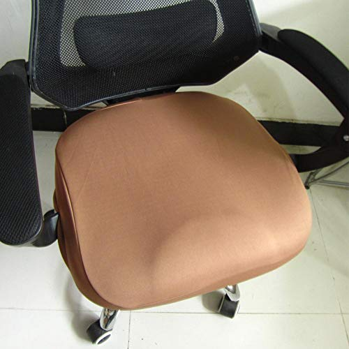 Sundlight Office Seat Cover, Office Computer Chair Seat Cover,Polyeste Spandex Stretch Desk Chair Seat Cushion Slipcovers