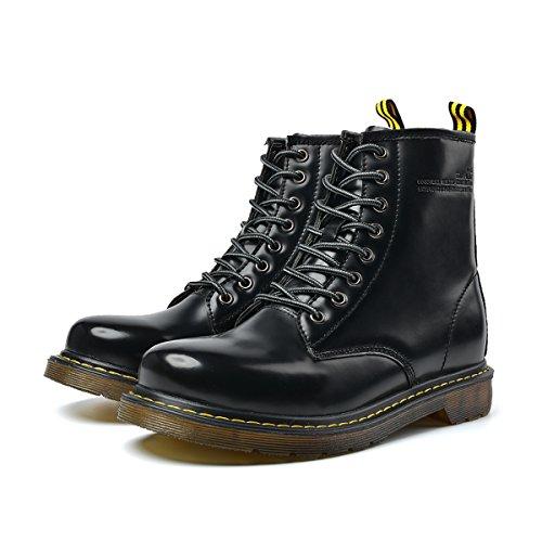 Nero Boots Caldo Stivali invernali Worker Pelle Neve Impermeabili Boots Martin Uomo Stivaletti Stivali Invernali Classic scarpe le da Merletti AxT8qUAgwH