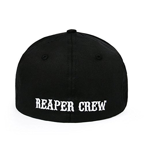 Soa Reaper Crew Unisex Adult Stretchy Cotton Baseball Cap