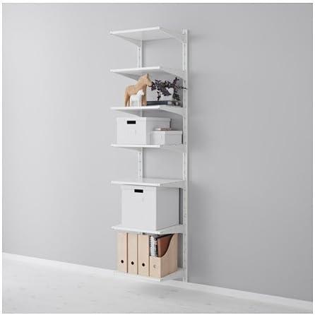 Ikea ALGOT - Sistema de almacenamiento de baldas de pared (23 ...