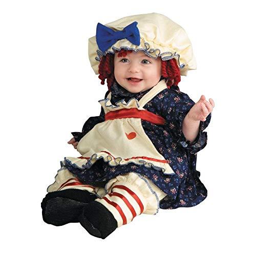 Baby Girl's Ragamuffin Dolly Costume