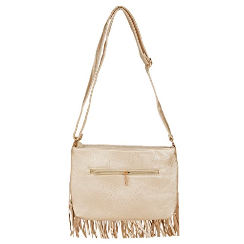 Bag Tassel Champagne Shoulder Body Fringe Weight Cross Light Dario wq04a11