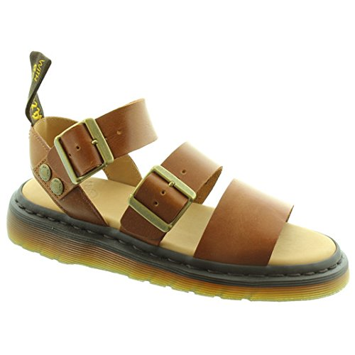 Dr. Martens Unisex-Adult Gryphon Strap Sandal, Size: 9 D(M) US, Color Oak Adjustable Strap Adult Sandals