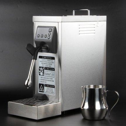 JIAWANSHUN Professional Espresso Coffee Milk Foam Machine Milk Frother Coffee Frothing Machine Milk Steamer Steam Coffee Milk Bubble Machine by JIAWANSHUN (Image #1)