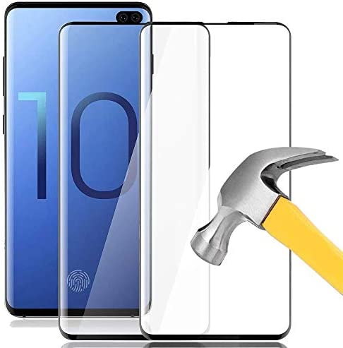 [2 Pack] Galaxy S10 Screen Protector, Keklle Full Coverage Anti-Scratch Anti-Bubble 3D Touch 9H Hardness Tempered Glass Screen Protector for Samsung Galaxy S10